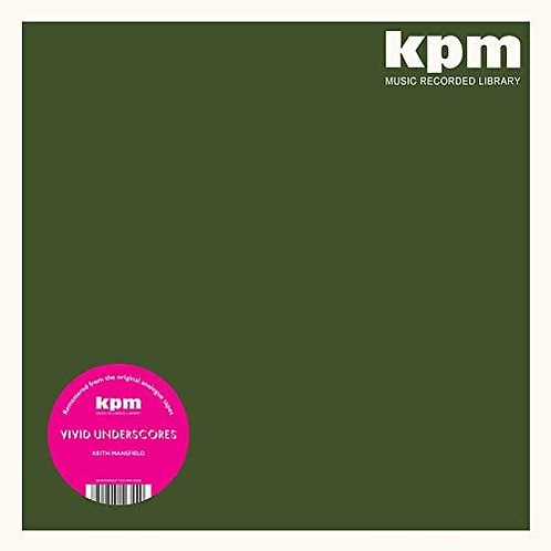 Keith Mansfield - Vivid Underscores LP Released 12/03/21