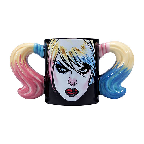 Harley Quinn: Head Shaped Mug