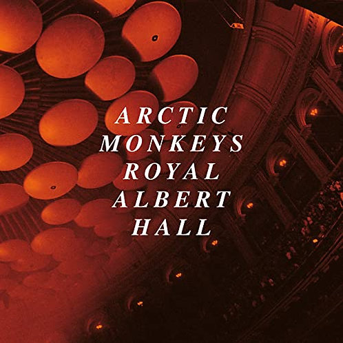 Arctic Monkeys - Live At The Royal Albert Hall CD Released 04/12/20