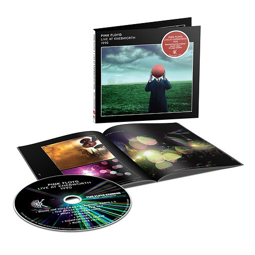 Pink Floyd - Live At Knebworth 1990 CD - Released 30/04/21