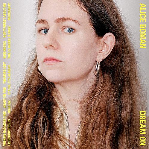 Alice Boman - Dream On LP Released 17/01/20