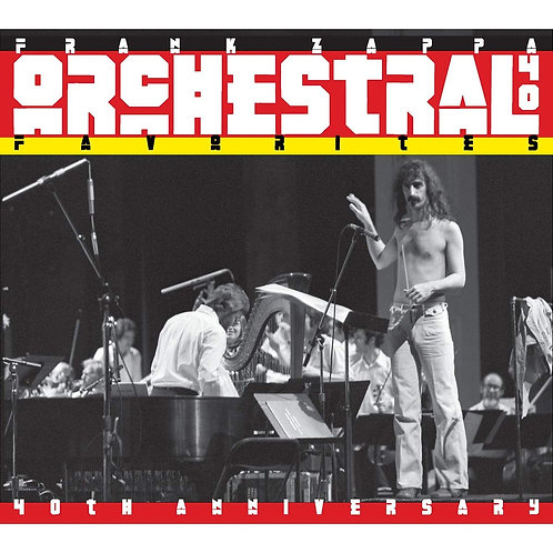 Frank Zappa - Orchestral Favourites 40th Anniversary LP Released 30/08/19