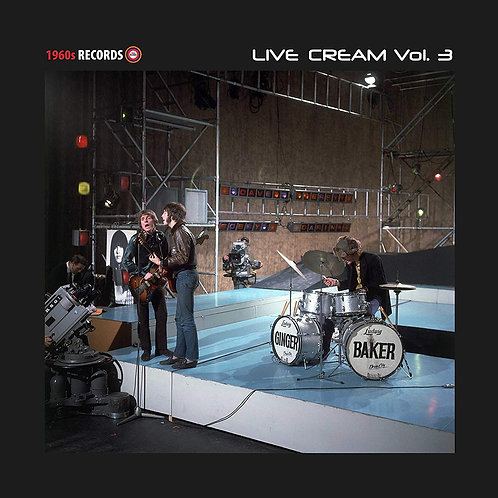 Cream - Live Cream (Volume 3) LP Released 30/08/19