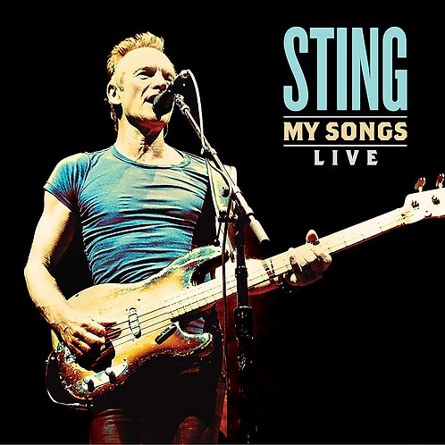 Sting - My Songs Live LP Released 13/12/19