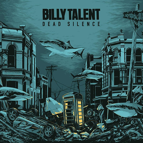 Billy Talent - Dead Silence Crystal Water Coloured Vinyl LP Released 30/04/21
