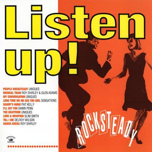 Various Artists - Listen Up! Rocksteady LP Released 15/11/19