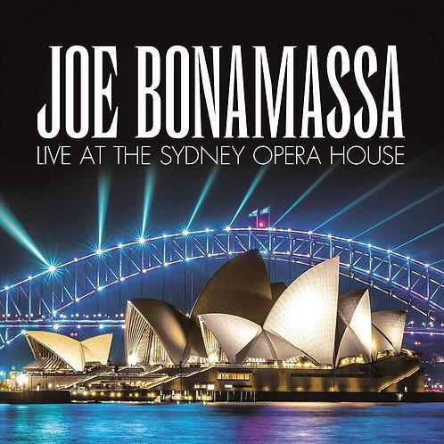 Joe Bonamassa - Live At The Sydney Opera House CD Released 25/10/19