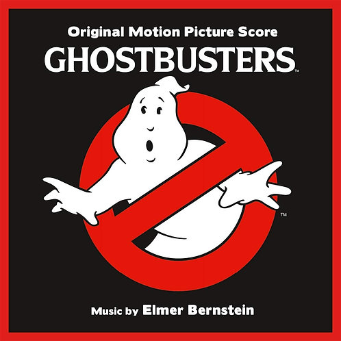 Elmer Bernstein - Ghostbusters - Original Score LP Released 09/08/19