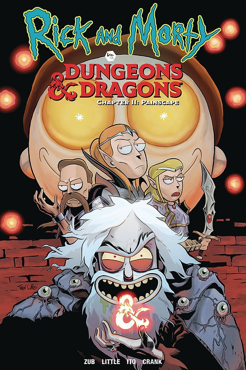 RICK&MORTY DUNGEONS&DRAGONS 'CHAPTER II PAINSCAPE TP