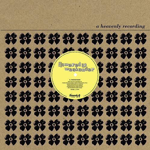 """Flowered Up - Weekender 12"""" Single Released 23/04/21"""