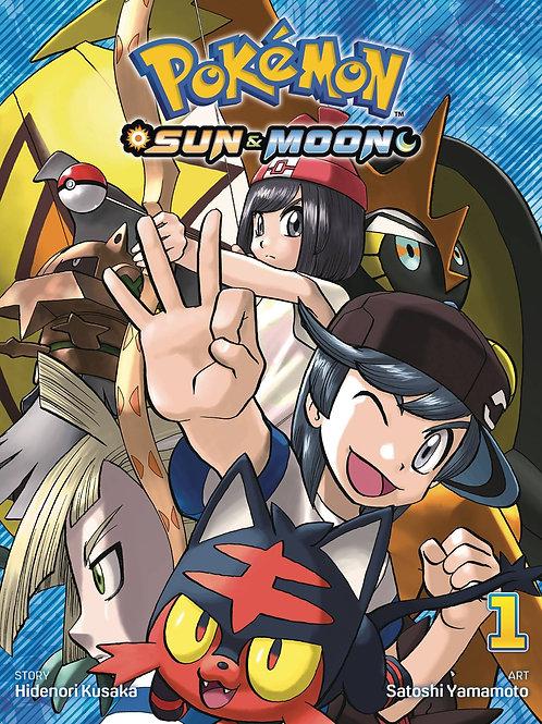 POKEMON SUN&MOON VOL 1