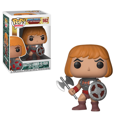 POP FUNKO Battle Armour He-Man