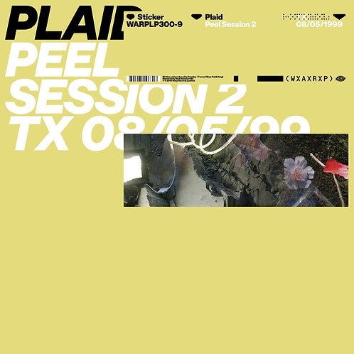 Plaid - WXAXRXP Session EP Released 15/11/19