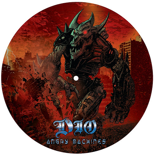 """Dio - God Hates Heavy Metal - 12"""" Picture Disc"""