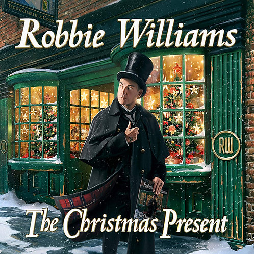 Robbie Williams - The Christmas Present CD Released 22/11/19