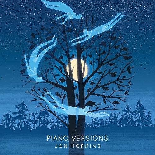 Jon Hopkins - Piano Versions - Blue Vinyl LP Released 02/07/21