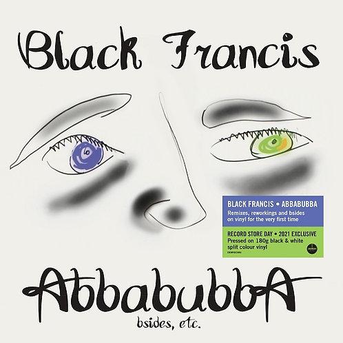 Black Francis - Abbabubba (B-Sides Etc) - Black/White Vinyl LP