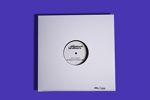 """The Chemical Brothers - Out Of Control (21 Minutes Of Madness) 12"""" 15/11/19"""