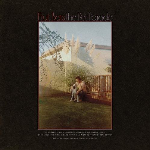 Fruit Bats - The Pet Parade - Red/Black Swirl Vinyl LP Released 07/05/21