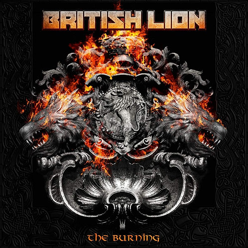 British Lion - The Burning LP Released 17/01/20