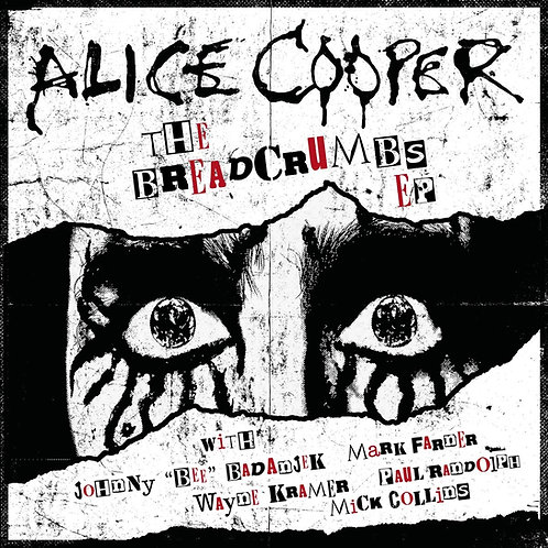 "Alice Cooper - The Breadcrumbs EP 10"" Released 13/09/19"