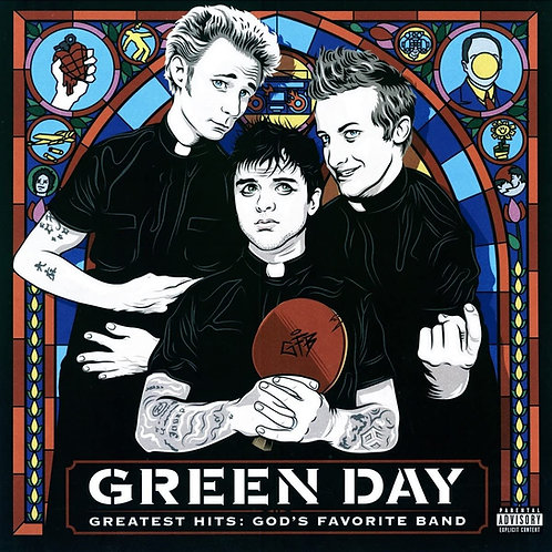 Green Day - Greatest Hits: God's Favorite Band - Double LP