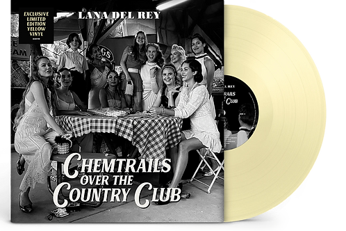 Lana Del Rey - Chemtrails Over The Country Club LP Released 19/03/21