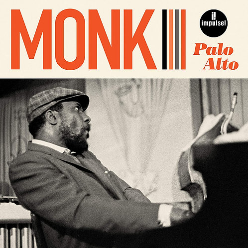 Thelonious Monk - Palo Alto CD Released 18/09/20