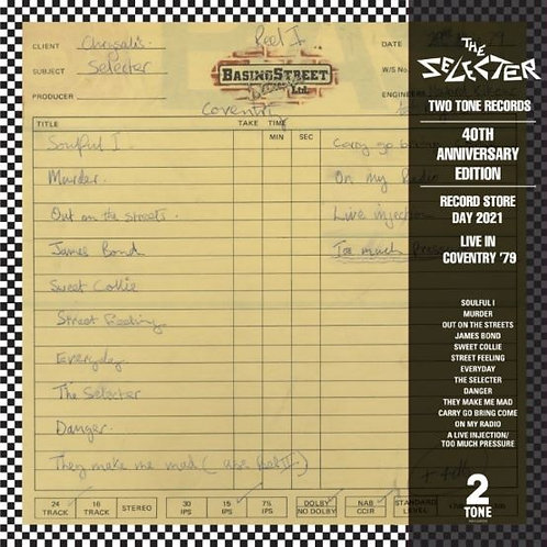 The Selecter - Live In Coventry LP