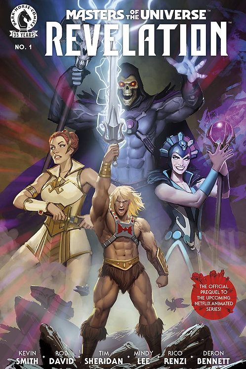 "masters of the universe "" revelation #1"