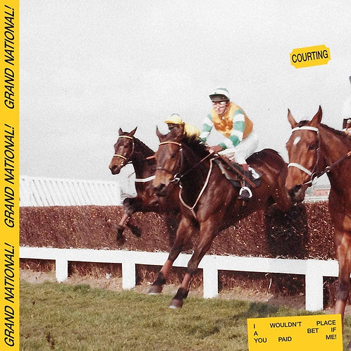 """Courting - Grand National EP - 12"""" Vinyl Released 09/04/21"""