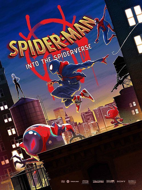 SPIDER-MAN INTO THE SPIDER VERSE POSTER BOOK