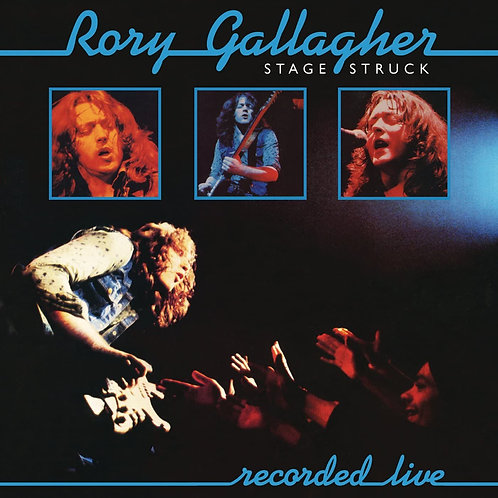 Rory Gallagher - Stage Struck - Recorded Live LP