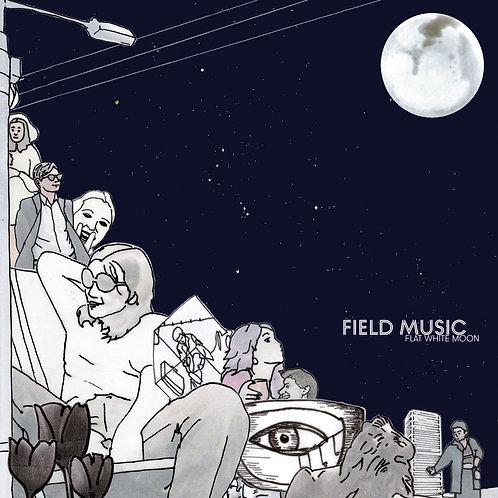 Field Music - Flat White Moon Transparent Vinyl LP Released 19/03/21
