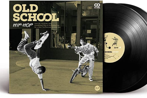 Various Artists - Old School Hip-Hop - Double LP Released 11/06/21