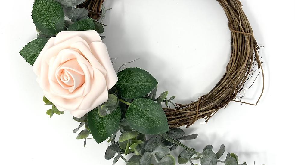 Single Rose Wreath