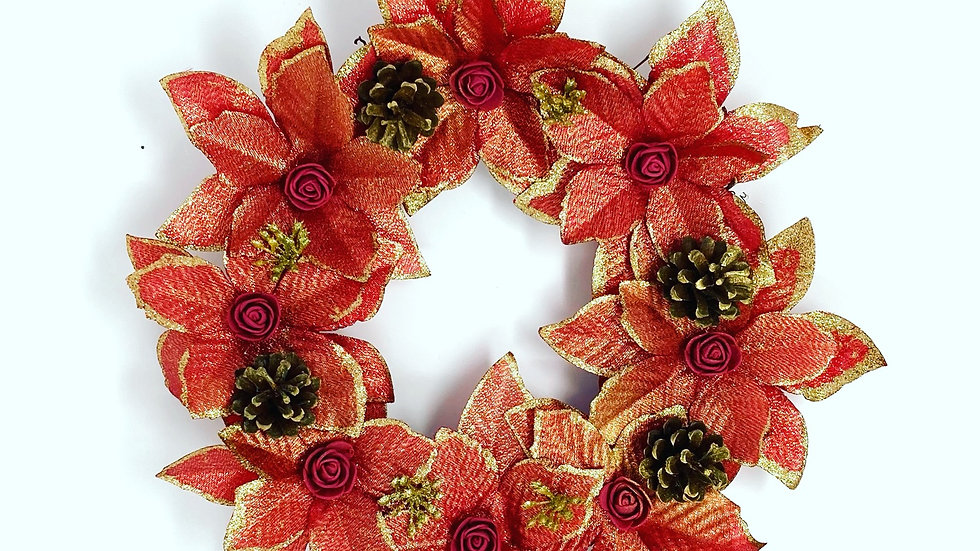 Mini Red Wreath