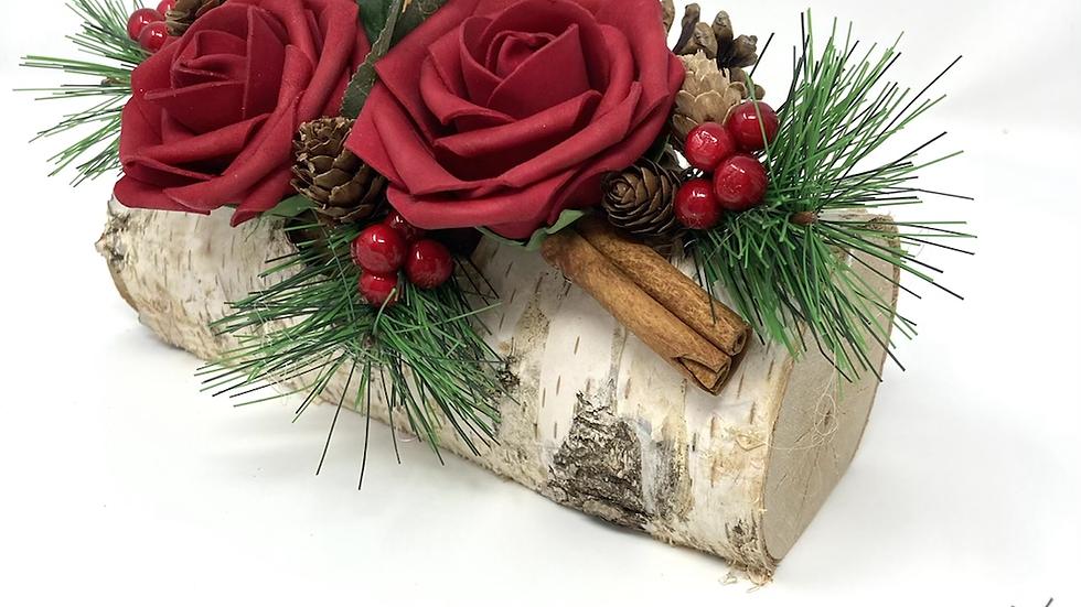 Red Rose Log
