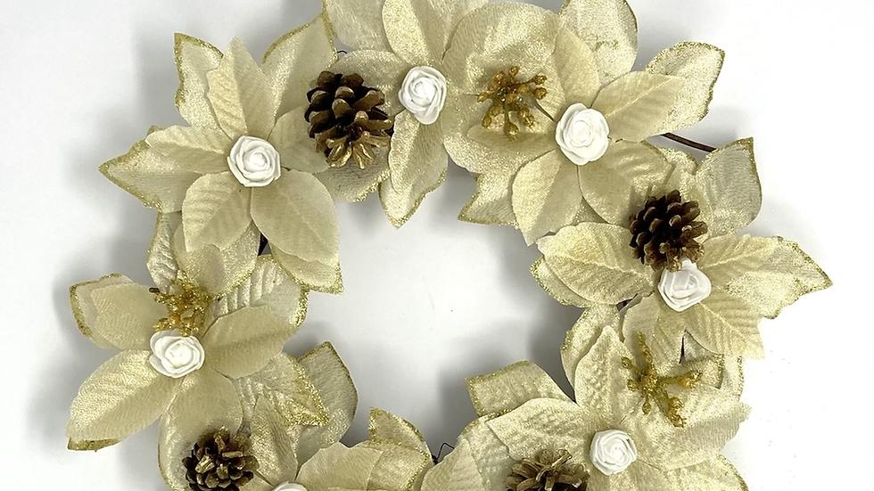 Gold Mini Wreath