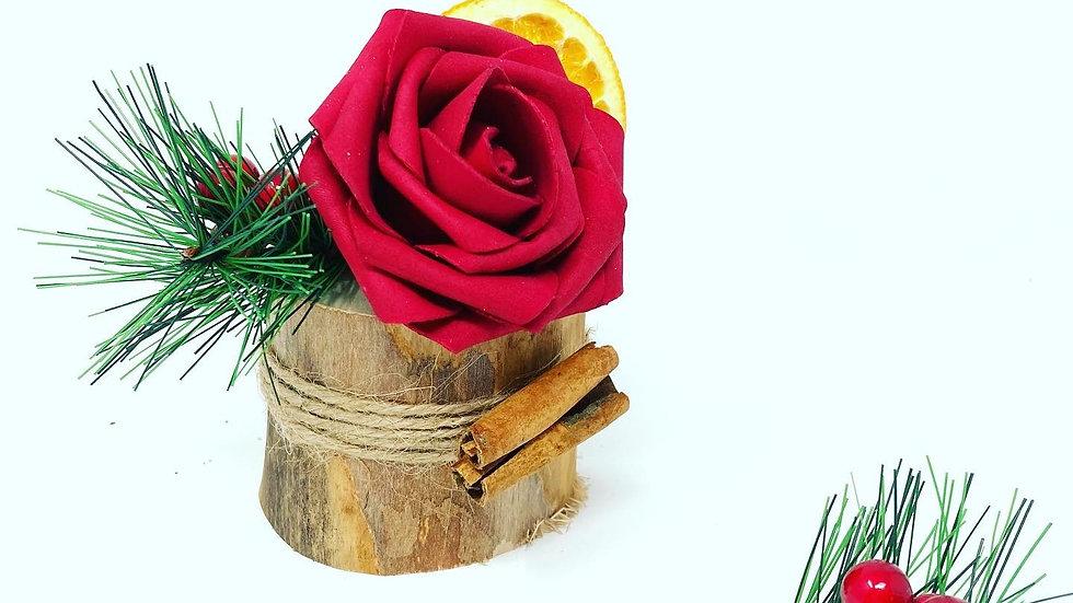 Mini Log Rose