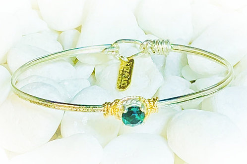 Birthstone Solitaire Bracelet