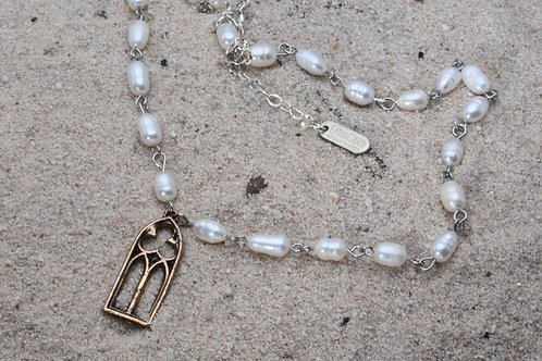 Faith Pearl Necklace Collection