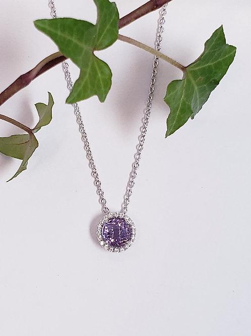 Amethyst Birthstone Necklace