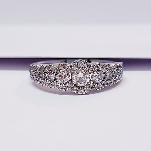 Multi Stone Diamond Band