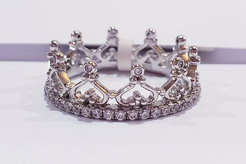 Crown Eternity Ring