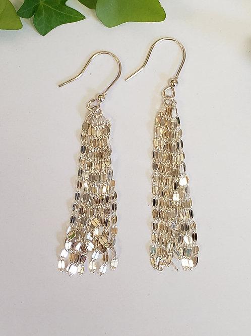 Dangle Fringe Earrings