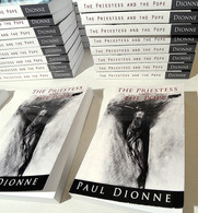 """Paul's first book, """"The Priestess and The Pope""""."""