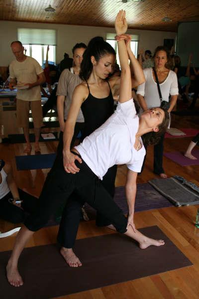 The art of yoga assists