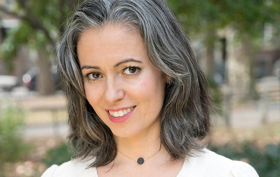 Sandhi Ferreira white dress crop Headsho