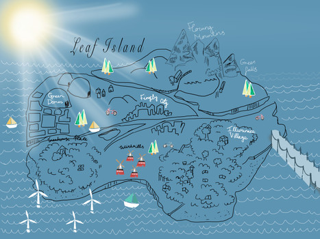 Map of an Island